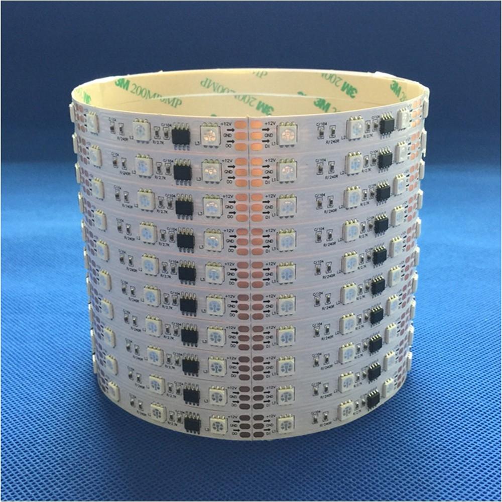 led亮化工程景观照明常规外置芯片全彩灯带 16段外控可编程控制 型号 LGM-DD-12V-16L-48LED