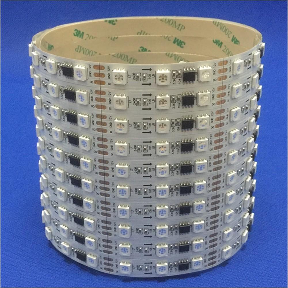 led亮化工程景观照明常规外置芯片全彩灯带 20段外控可编程控制 型号 LGM-DD-12V-20L-60LED