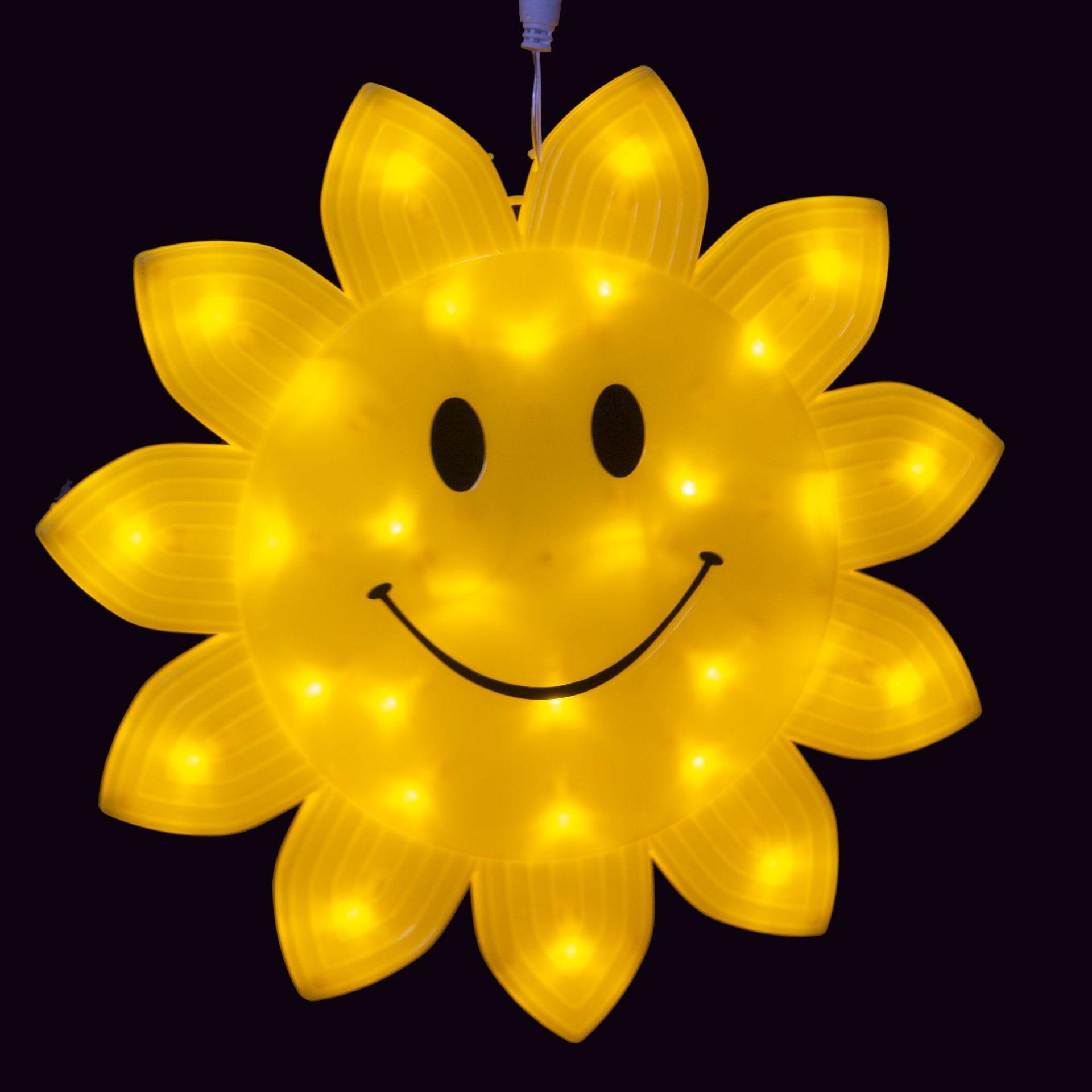 led景观亮化笑脸灯 雪花造型灯 LED节日亮化圣诞装饰灯 防水满天星灯串节日灯型号LGM-JRDHX-008