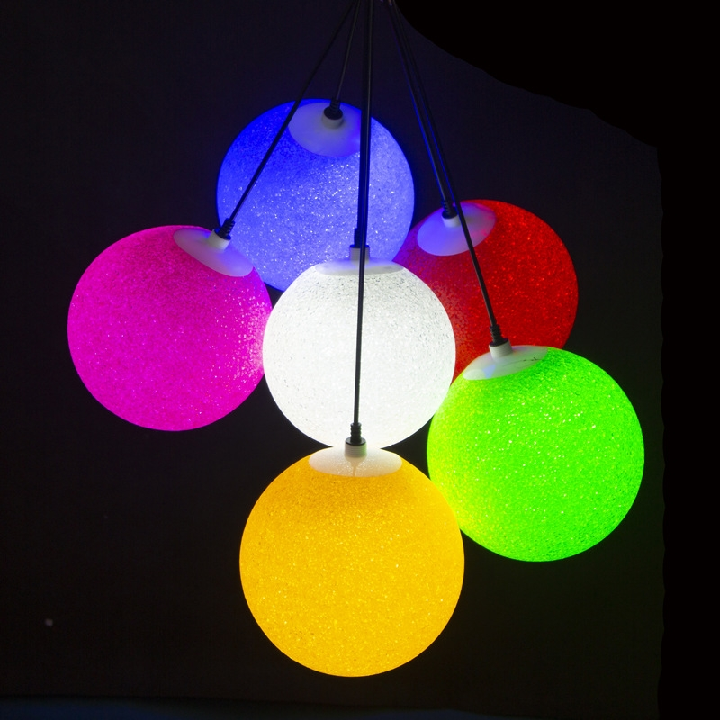 led景观亮化米球圆球挂件 LED节日亮化造型灯 LED流星雨笑脸彩灯装饰灯型号LGM-JRDHX-009