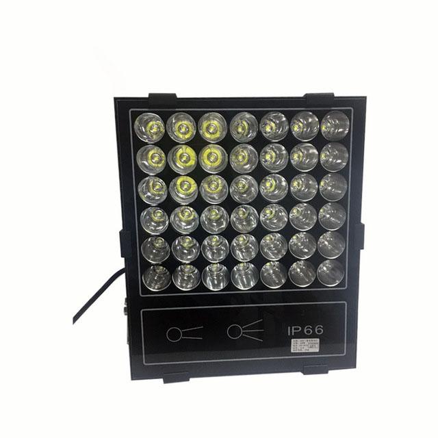 科瑞芯片户外远程探照灯 200W方形聚光灯 防水楼体射灯亮化投光灯