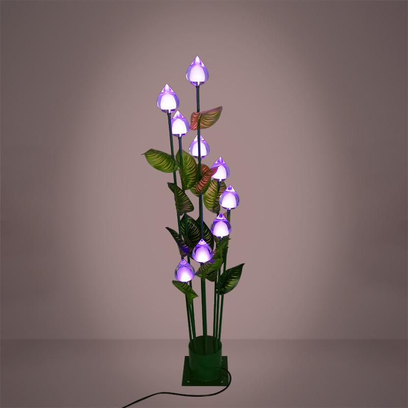 led景观亮化新款LED桃子造型芦苇灯 户外防水景观灯 灯光节亮化非标定制产品 型号LGM-DZD-SGD340