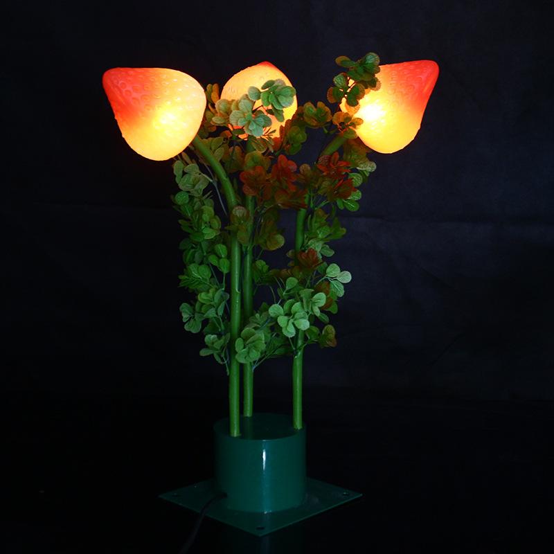 led景观亮化仿真草莓灯LED景观灯草坪灯仿真植物灯芦苇灯节庆美陈亮灯化灯具 型号LGM-DZD-CMD349