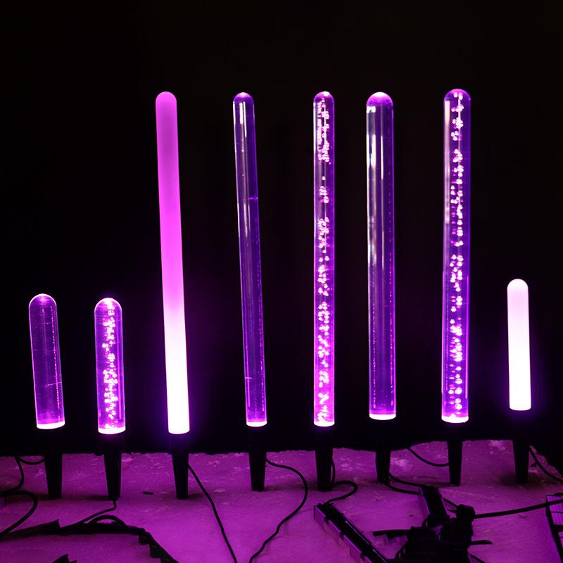 LED景观亮化亚克力发光棒磨砂发光棒透明发光棒512控制防水户外室内装饰灯 型号LGM-DZD-BSB359