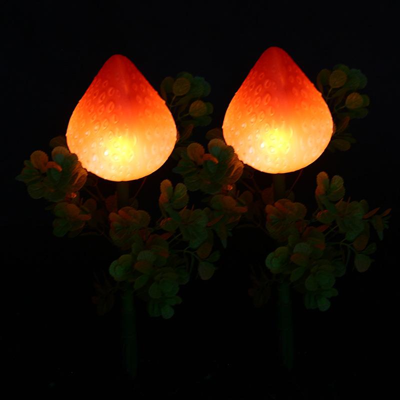 景观亮化仿真草莓灯led草坪灯户外防水led景观灯公园景区庭院美陈亮化景观灯 型号LGM-DZD-CMD361