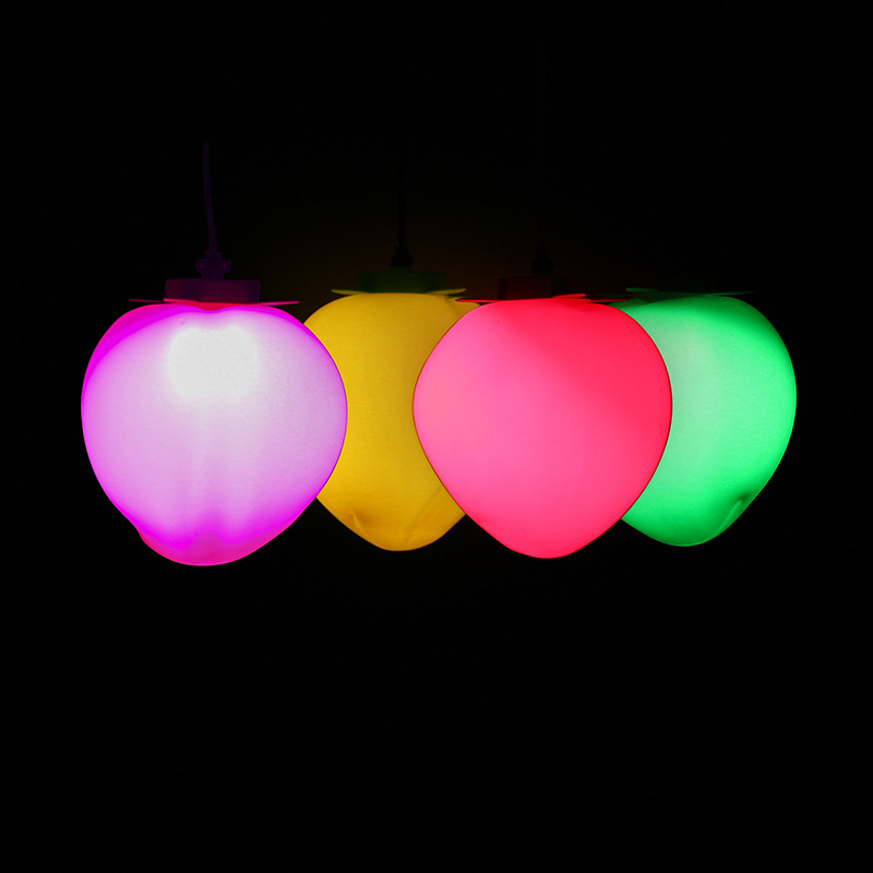 led景观亮化桃子景观装饰灯树木挂饰灯公园庭园美陈亮化树木装饰LED定制灯 型号LGM-JRD-TZD374